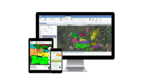 Geofolia desktop, tablet and smartphone view