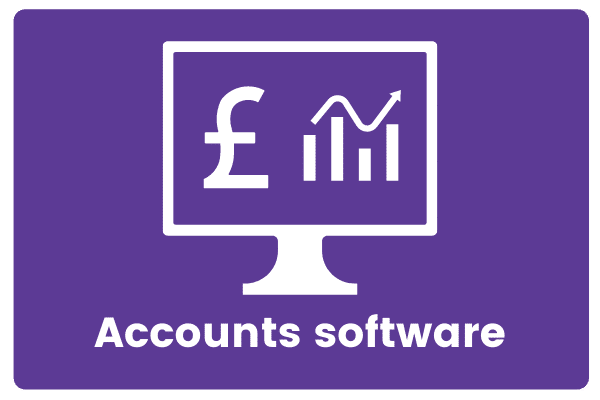 Accounts software icon